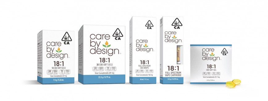 Photo showing a selection of Care By Design products.